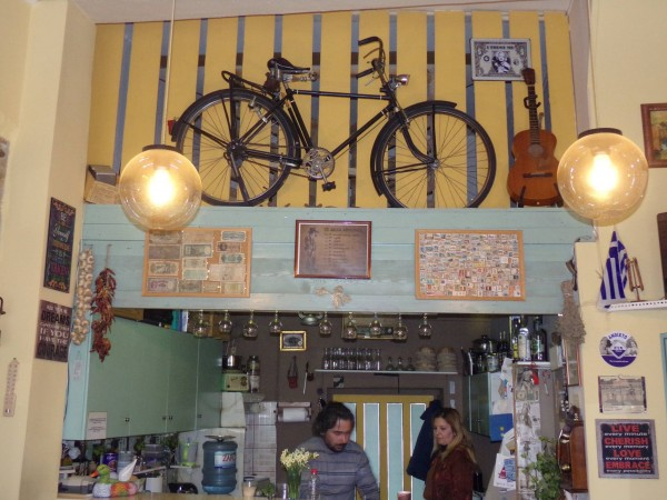coffee shop - kafenio in Moires, south Heraklion