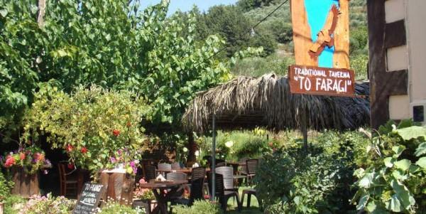 tavern-faragi-local-cretan-diet-cousin-deliana-gorge-chania-crete